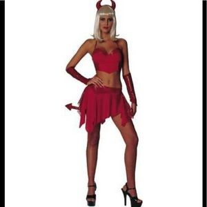 """Dazzlin' Devil"" Adult Costume Woman's Size Large"